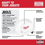 48-73-1001 Front Brim Vented Hard Hat with BOLT-2