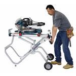 T4B GravityRise Wheeled Miter Saw Stand 4