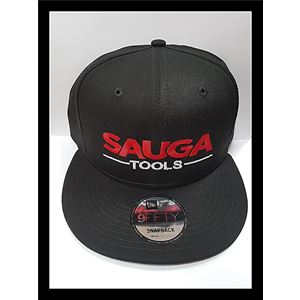 465a1868230 Sauga Tools 1991 Nu Era Flat Bill Snap Back Hat