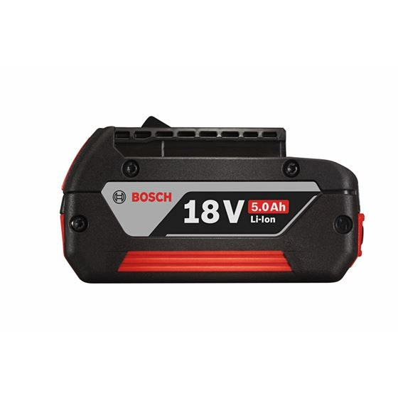 Bosch BAT621 18 V Li-Ion 5.0 Ah FatPack Battery