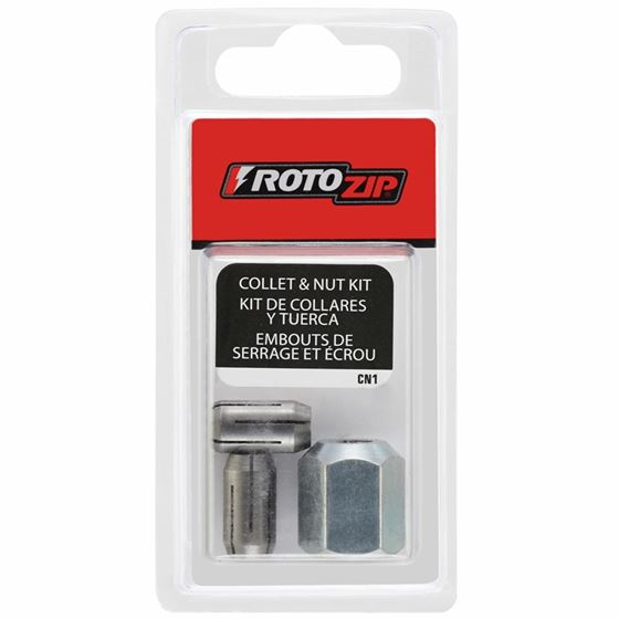 Rotozip CN1 Collets and Nut Kit