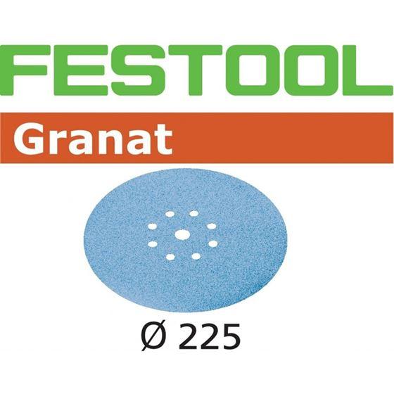 25-Pack Festool 499643 Granat Abrasives D225 P320