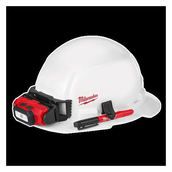 48-73-1031 Full Brim Hard Hat with BOLT Accessor-2