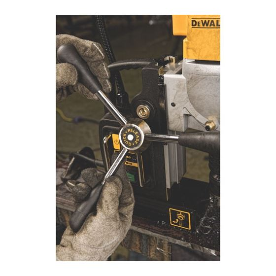 "DWE1622K 2"" 2-Speed Magnetic Drill Press-4"