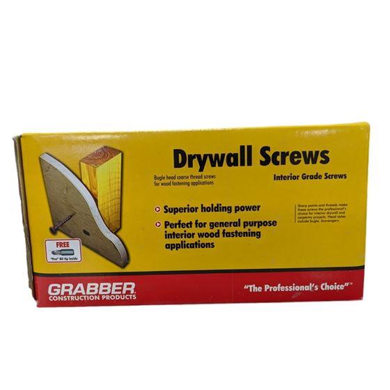 Drywall Screws 1-1/4in Coarse Thread