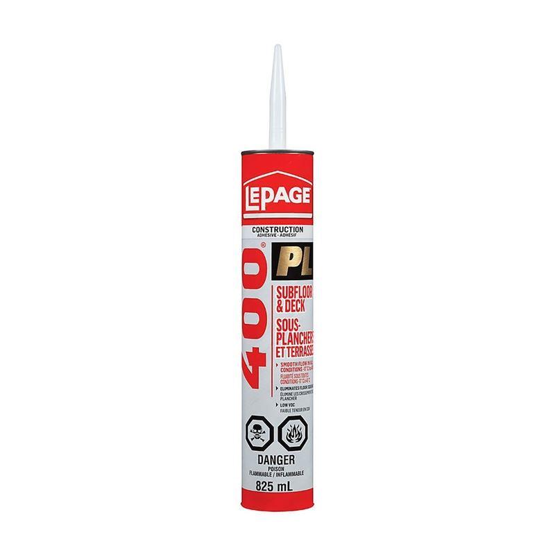 PL400 825ml Subfloor Adhesive