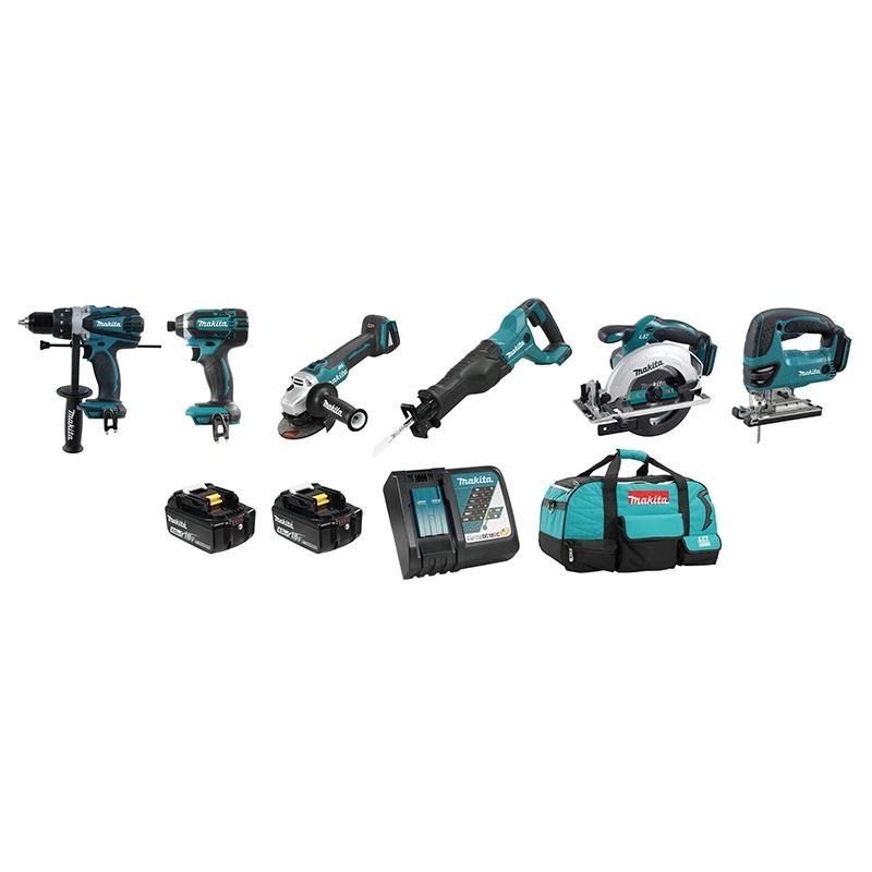 DLX6079M 18V (4.0 Ah) LXT 6 Tool Combo Kit