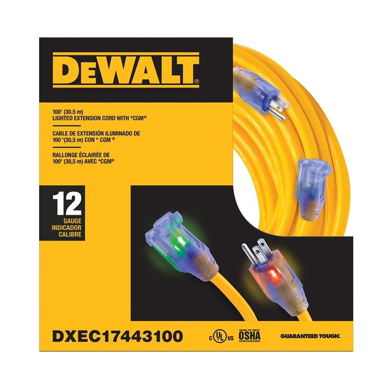 Extension Cord - 100ft 12/3 SJTW LIGHTED11