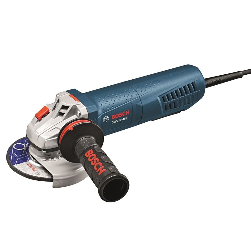 4-1/2 In. Angle Grinder with Paddle Switch