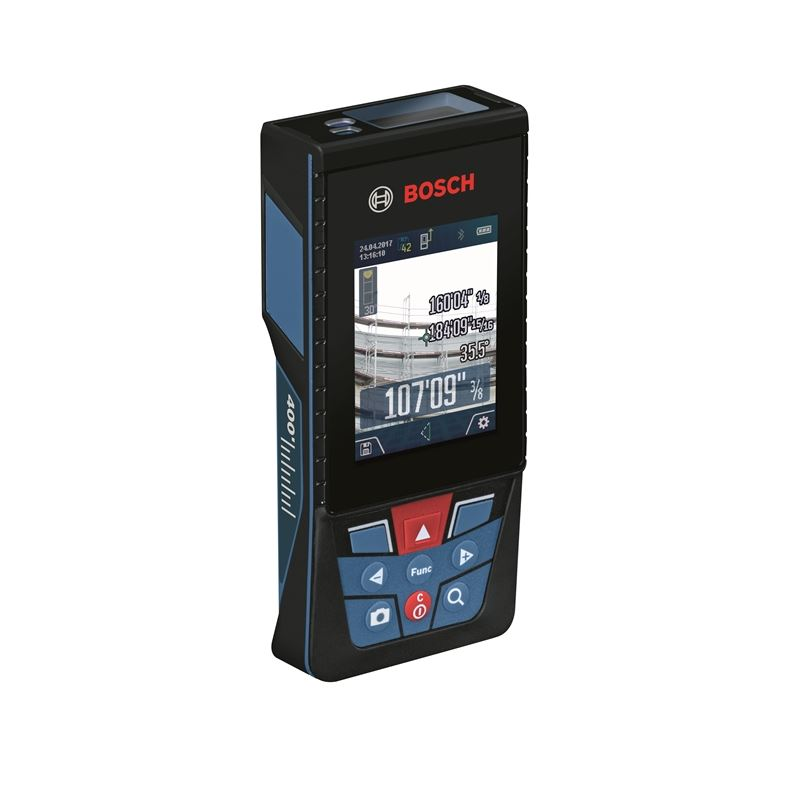Bosch GLM400CL Outdoor Laser Measure With Camera