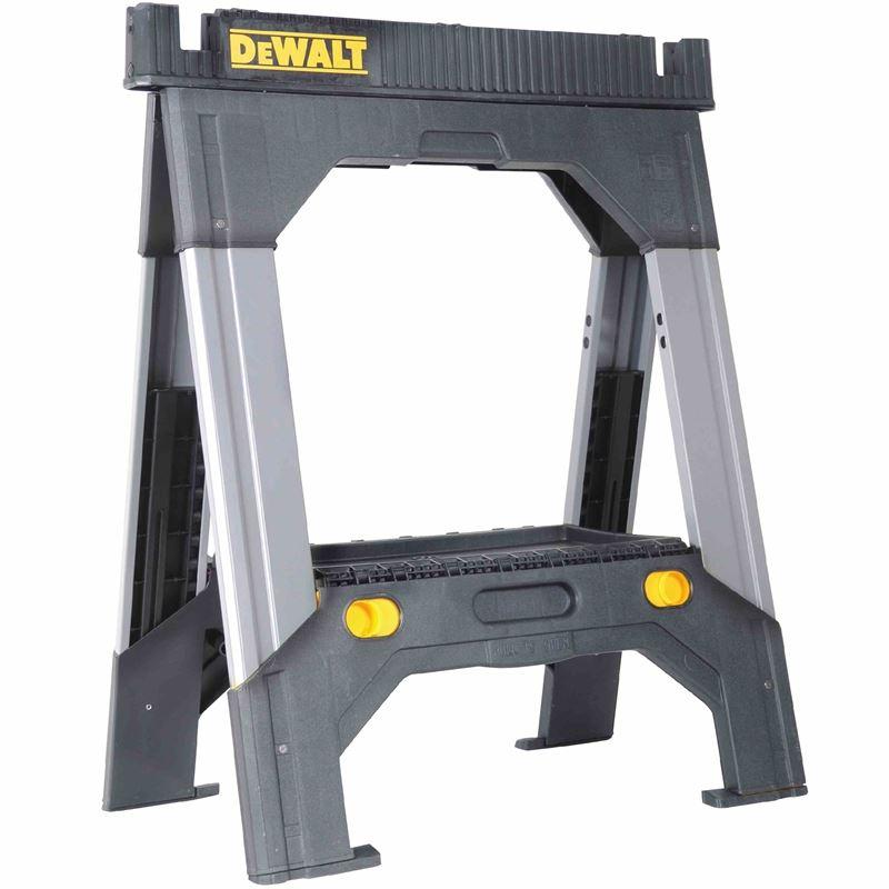 DWST11031 Adjustable Metal Legs Sawhorse