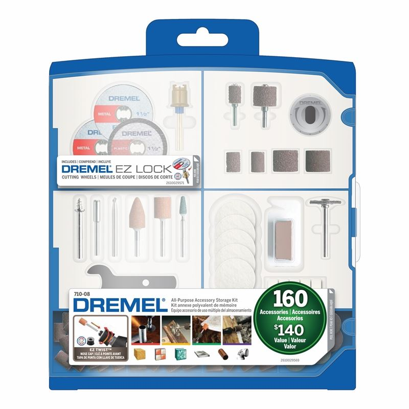 Dremel   710-08 160-Piece All-Purpose Accessory Ki